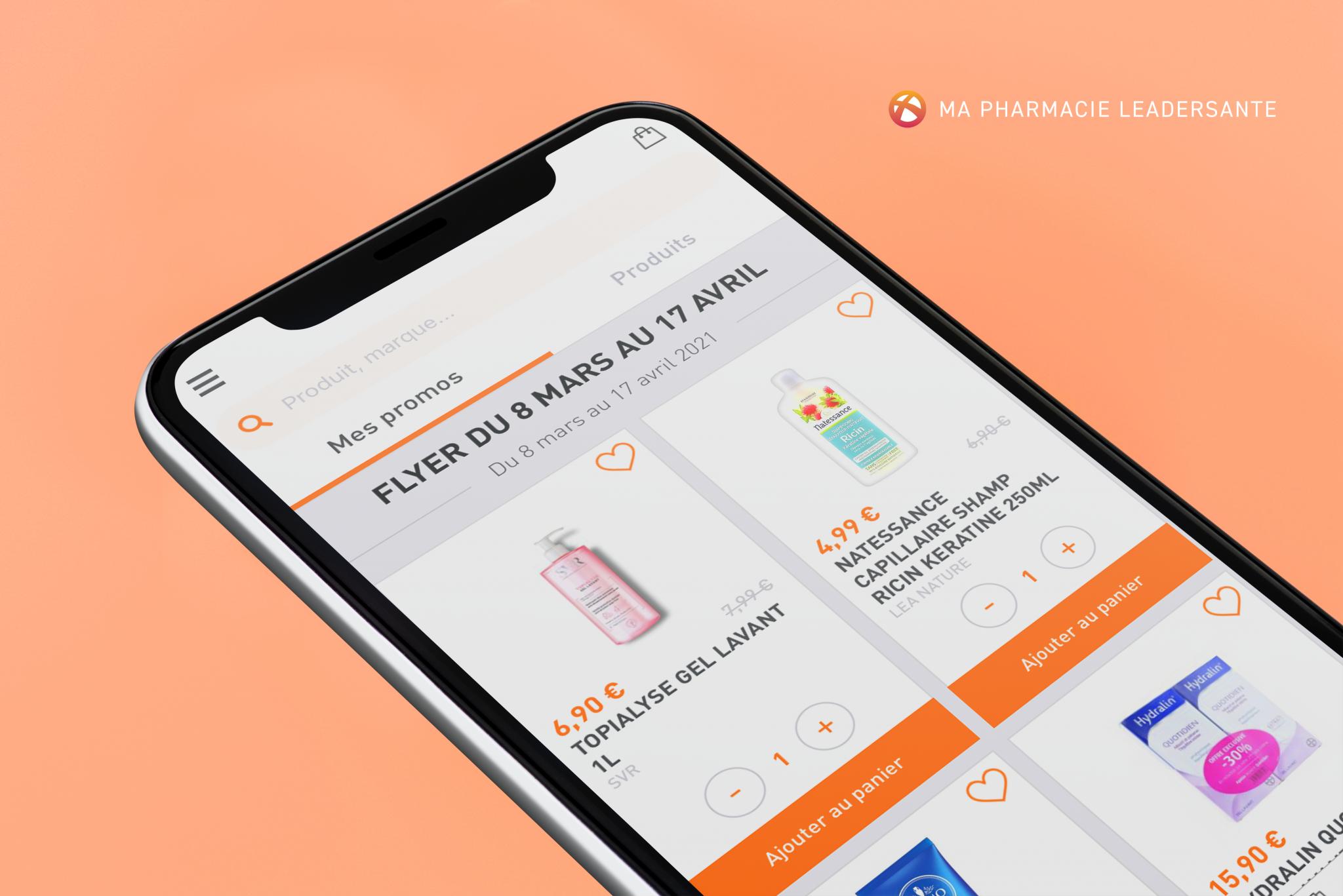 Application Mobile Ma Pharmacie Leadersanté