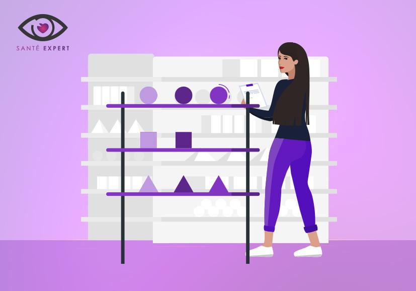 Merchandising - Santé expert