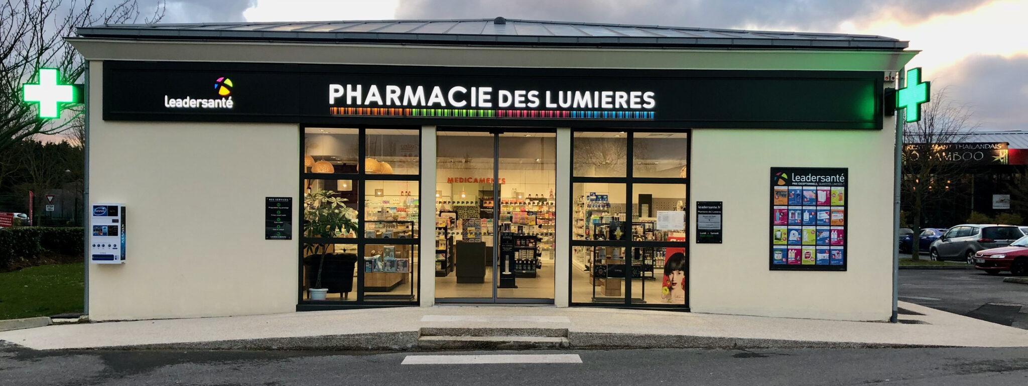 PHARMACIE DES LUMIERES – 77164